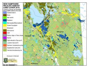 Map - Wildlife Habitat Landcover
