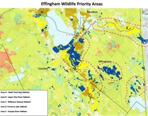 Map - Wildlife Prioroty Areas